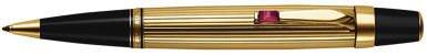 Motblanc Boheme Gold Plated Rouge Sfera Ballpoint]()