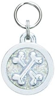 product image for Cross Bones Engravable Pet Tag - Small