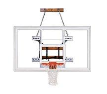 最初チームfoldamount82 Supreme steel-acrylic Side Folding壁マウントバスケットボールsystem44 ;スカーレット B01HC0B57M