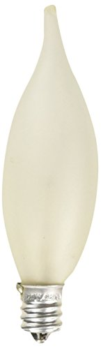 Westinghouse 0367800, 25 Watt, 130 Volt Frosted Incand CA8 Light Bulb, 2500 Hour 145 Lumen