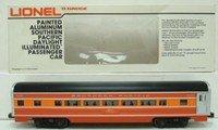 Lionel 9591 Southern Pacific Daylight Aluminum Coach (Aluminum Passenger Coach)