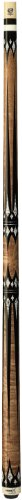 (Purex HXT-65 Antique Birds-Eye Maple with Black and White Daggers and Diamonds Technology Pool Cue,)