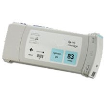 Lovetoner Compatible HP C4944A (83) INK / INKJET UV Cartridge Light (C4944a Light)