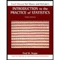 img - for Excel Manual for Moore and McCabe's Introduction to the Practice of Statistics book / textbook / text book