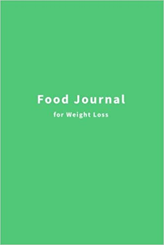 amazon food journal for weight loss meal and exercise tracker