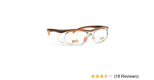 2fa608e653 SAFETY GLASSES - WITH DEMO LENSES - SAFETY FRAME ONLY WITH PERMANENT SIDE  SHIELDS - - Amazon.com