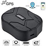 GPS Tracker,TKMARS Tracker Standby 150 days Car Locator GPS Tracker for Vehicle GPS Tracking Real Time Tracking Device Anti Lost Geo Fence Car Tracker for Cars SUV Motorcycles Trucks Vehicles TK905B