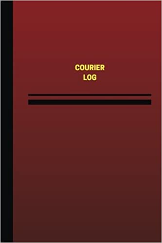 Buy Courier Log (Unique Logbook/Record Books) Book Online at Low