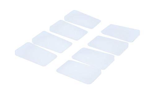 (Multi Purpose Nylon Plastic Shims, Toilet Shims, 8 Pack, Size: 1-1/8