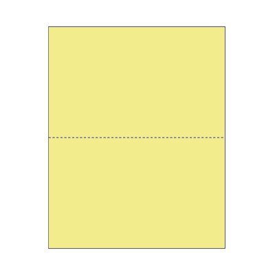 Print On Demand Jumbo Color Blank Postcards - Wild Canary (500 sheets/1000 postcards)