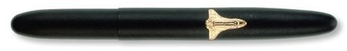 Fisher Space Pen, Bullet Space Pen with Shuttle Emblem, Matte Black (600BSH) ()
