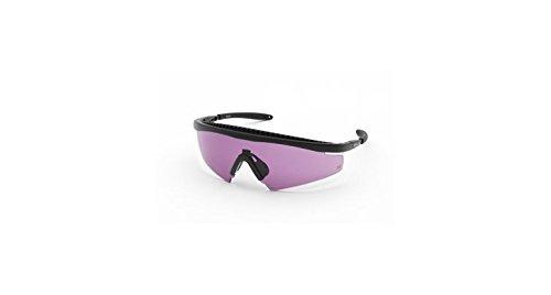 Body Specs Slings Shooting Glasses, Black Frame & Violet - Specs Body Sunglasses