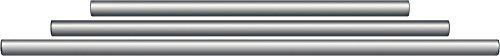 Gibraltar SC-GPR435 43.5 Inch Straight Rack Tube