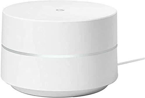 Google WiFi System, Router Replacement for Whole Home Coverage - 1 Pack, Bulk Packaging - White