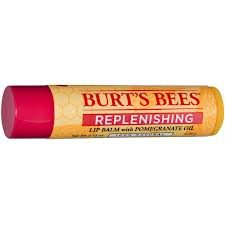 Burt's Bees Replenishing Lip Balm with Pomegranate Oil, .15-ounce Tubes (Pack of 12)