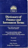 img - for Dictionary of Finance and Investment Terms (Barron's Financial Guides) book / textbook / text book