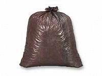 1074731 PT# WEBB-48 Liner Garbage Can 40-45gal .6mil 2 Ply 40x46'' Brown 250/Ca Made by Webster Industries