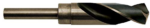 Cobalt 45//64 Silver and Deming Drill Bit 1//2 inch Shank