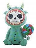 Character Figurine (Furrybones Mogu with Lollipop Character Themed Decorative Figurine)