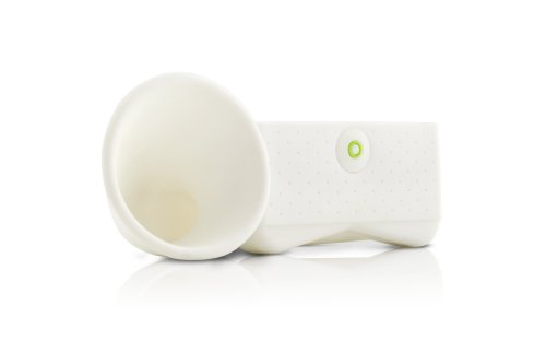 Bone Portable AMP for iPhone Horn Stand White (Portable Audio/Cellular Accessories) - coolthings.us