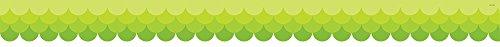 (Creative Teaching Press Ombre Lime Green Scallops Borders (0181))