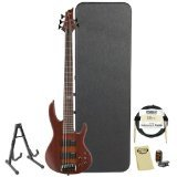 ESP D-5-NS-KIT-2 Natural Satin 5-String Electric Bass with Accessories and Hard Case