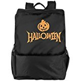 Show Time Halloween Pumpkin Multipurpose Backpack Travel Bag Shoulder Bag