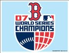 WinCraft Boston Red Sox 2007 World Series Champions Ultra Decal