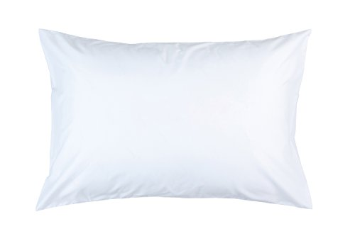 Zip and Block Anti Allergen, Hypoallergenic, Bed Bug Proof Breathable Waterproof Pillow Encasing,White, King