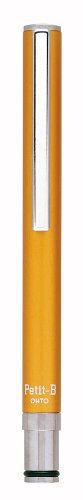 Ohto Petit-B Needle-Point Ballpoint Pen - 0.5 mm - Orange Body