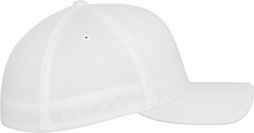Unisex Adultos Flexfit Para 6277 White Blanco Gorra q180Hwnp