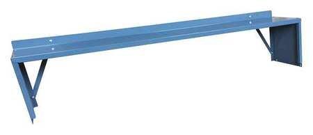 Shelf Riser, 60 W x 10 D x 12 in. H, Gray