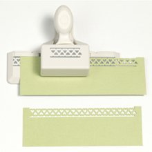 Martha Stewart Crafts Double-Edge Punch, Heart Loops Trim - Martha Stewart Border