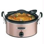 Hamilton Beach HB Copper 6 Qt. Slow Cooker