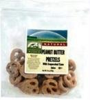 Blue Marble Covered Pretzels with Evaoporated Cane Juice, Peanut Butter, 15 Pound