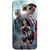Batman V Superman for Samsung Galaxy S6 Edge Hard Case Cover (bat) at Gotham City Store
