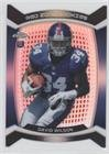 David Wilson (Football Card) 2012 Topps Chrome - Red Zone Rookies Die-Cut - Refractor #RZDC-7