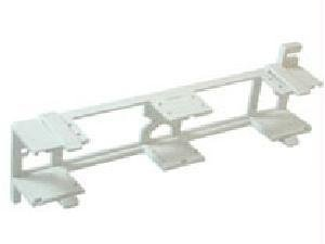 C2G 03866 Cross-Connect Patch Block Mounting Bracket, White ()