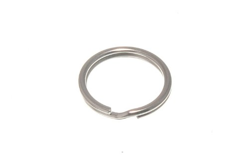 2000 X Split Key Rings 16Mm 5/8 Inch Nickel Plated Steel by DIRECT HARDWARE