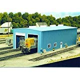 Pikestuff HO Modern 1 or 2 Stall Engine House Kit