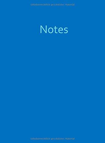 Download Mein blaues Notizuch - A4 - kariert - Ocean Blue (blau): 100 Seiten (German Edition) PDF