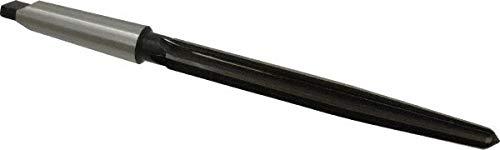 13/16'' Reamer Diam, 35/64'' Small End Diam, 3MT Morse Taper Shank, 7-3/8'' Flute, Bridge Reamer pack of 2