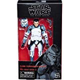 Star Wars The Clone Wars Black Series Clone Commander Wolffe Action Figure [6 Inch] ()