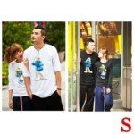 Lovely The Smurfs Style 100% Cotton Lover's Long-Sleeve T-Shirt for Man(1-Pack)-Color Assorted/Size S
