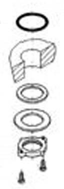 Grohe Replacement Part 46078000 Mounting Set For Europlus