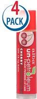 Alba Un-Petroleum Lip Balm with SPF 18 Cherry -- 0.15 oz Eac