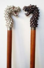 Royalexports Walking Stick Cane Antique DRAGON HEAD Handle Nautical Vintage Replica lot of 2 by Royalexports (Image #4)