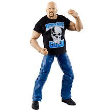 Mattel WWE Wrestling Exclusive Elite Collection Wrestle Mania 27 Action Figure Stone Cold Steve Austin (Stone Cold Steve Austin Hall Of Fame Figure)