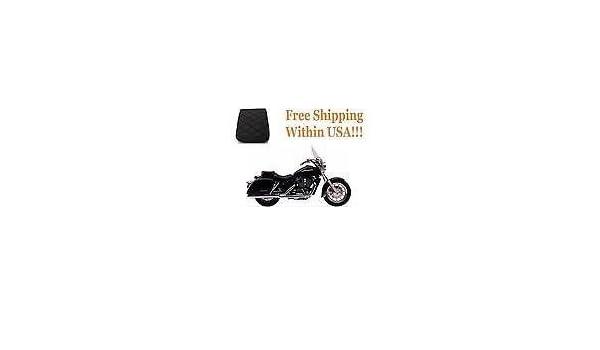 Soft Motorcycle Pillion Rear Back Seat Gel Pad for Kawasaki Vulcan 1600 Classic