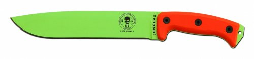 ESEE-Venom-Green-Junglas-w-Orange-Micarta-Handle-Sheath